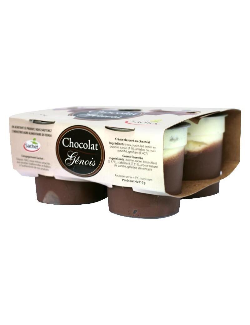 Genois Chocolat 4x110G Sachet