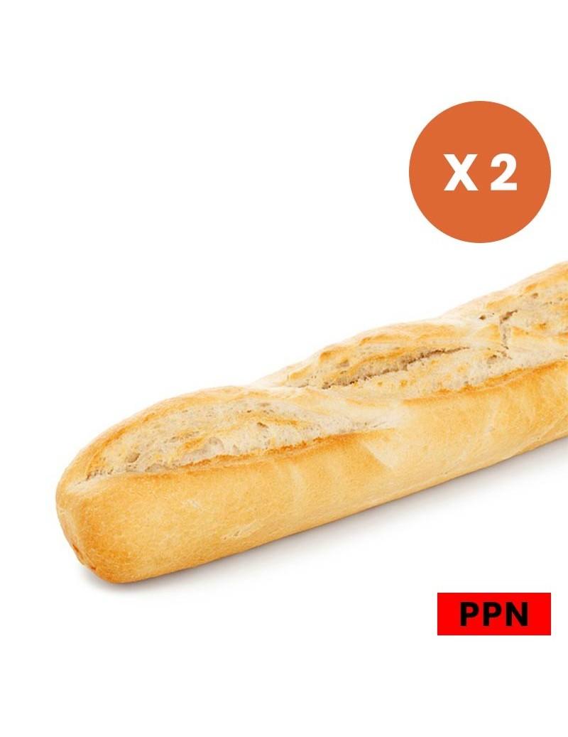 Baguette de pain 2x250G