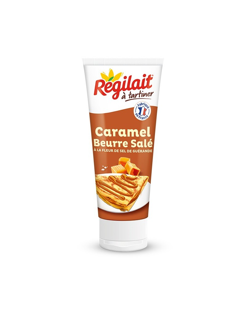 Lait caramel beurre sale tube 300g REGILAIT