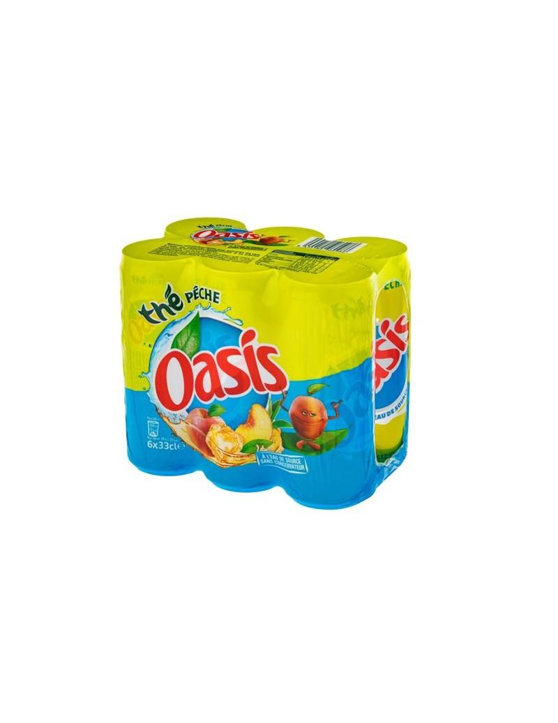 Oasis Thé Pêche 6 x 33CL