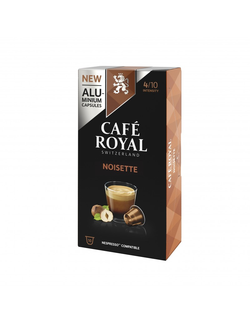 Café Royal Alu Noisette 10...