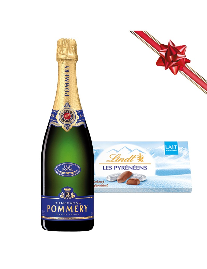 Coffret Champagne Pommery...