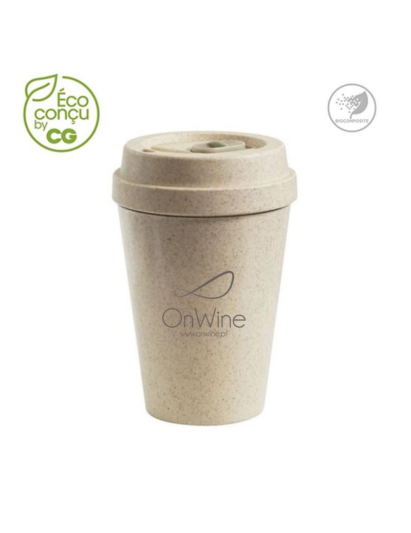 Mug étanche en bioplastique...