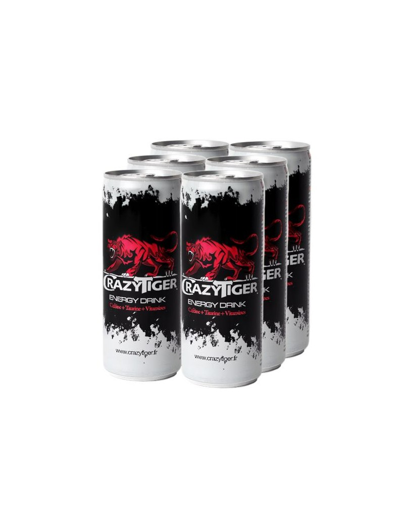 Crazy Tiger 6x25cl Energy...