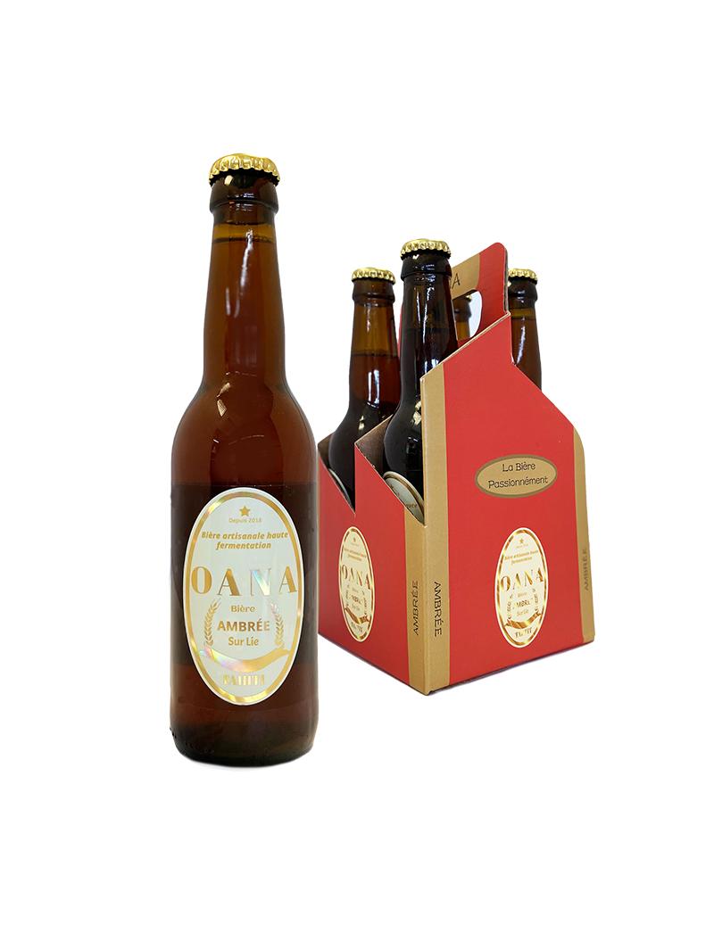 OANA Bière Ambrée 4x33cl