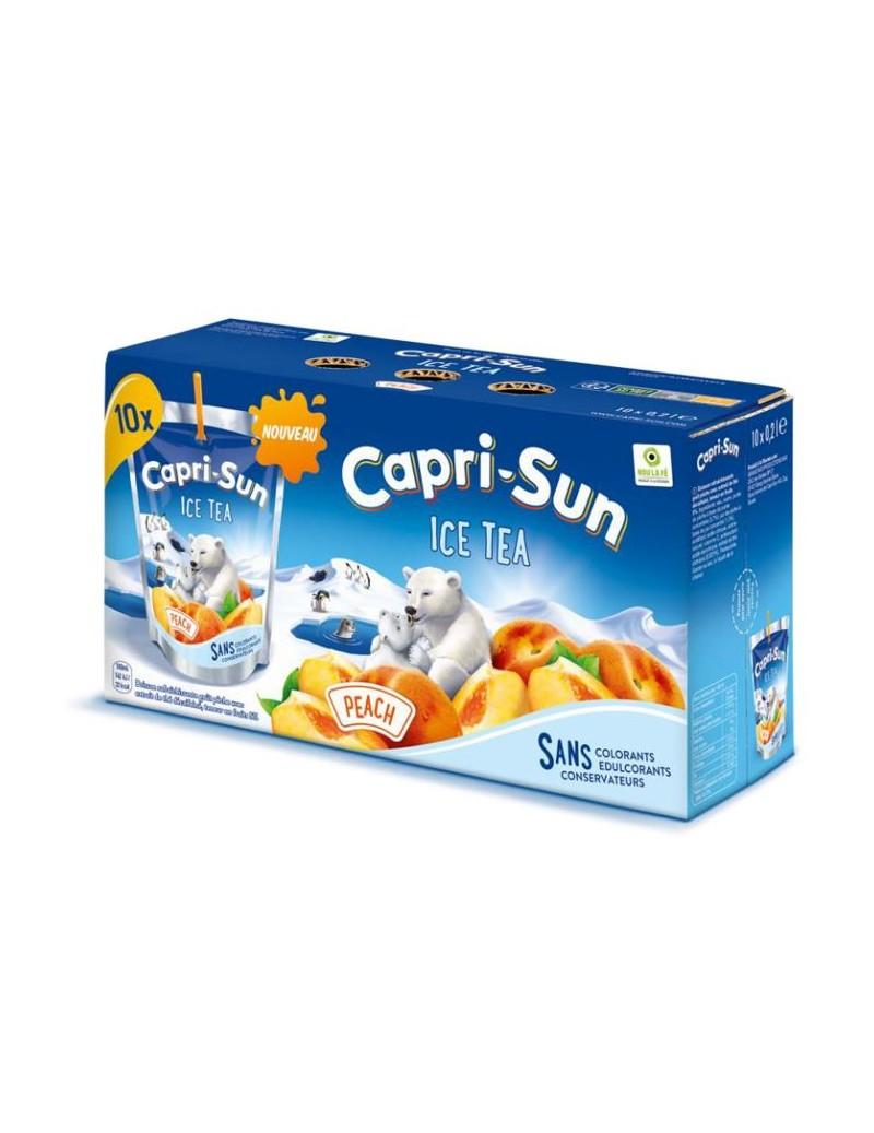 Capri Sun Ice Tea Pêche 10 x 20cl