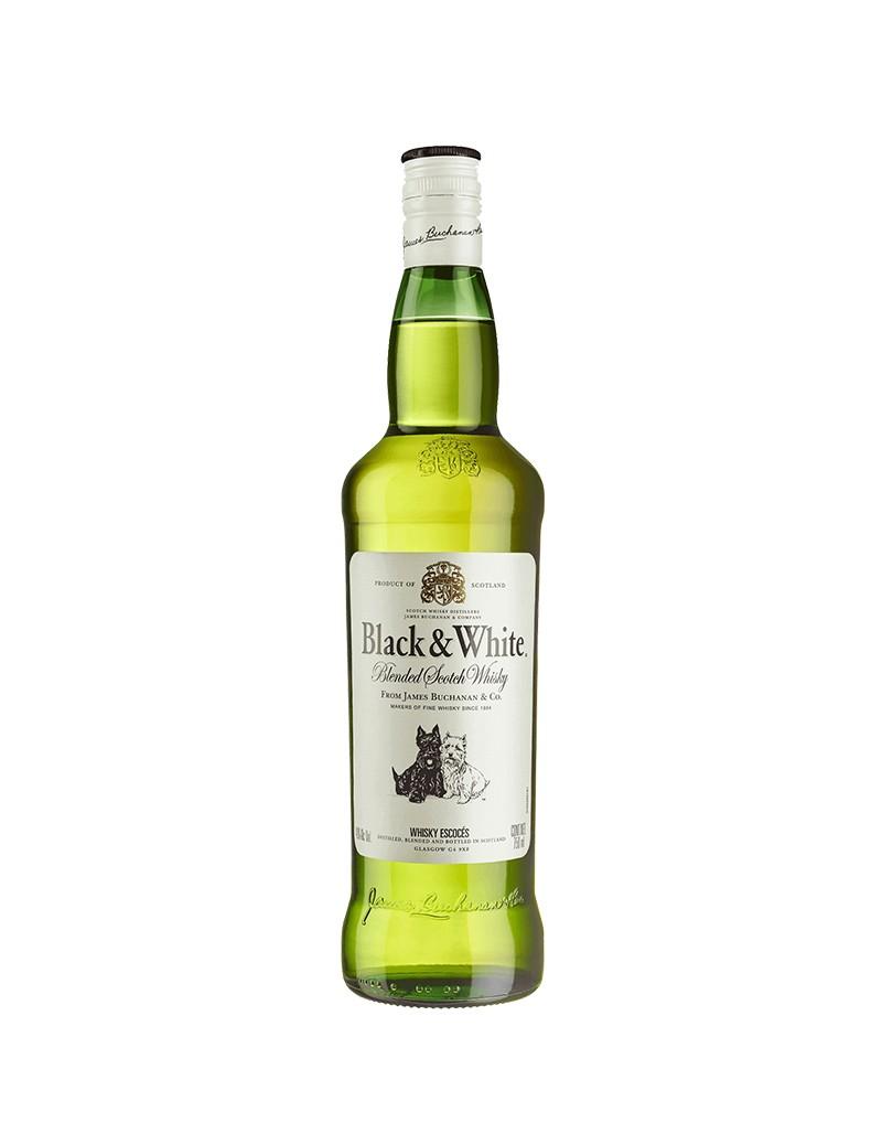 Whisky Black & White 40° 70cl