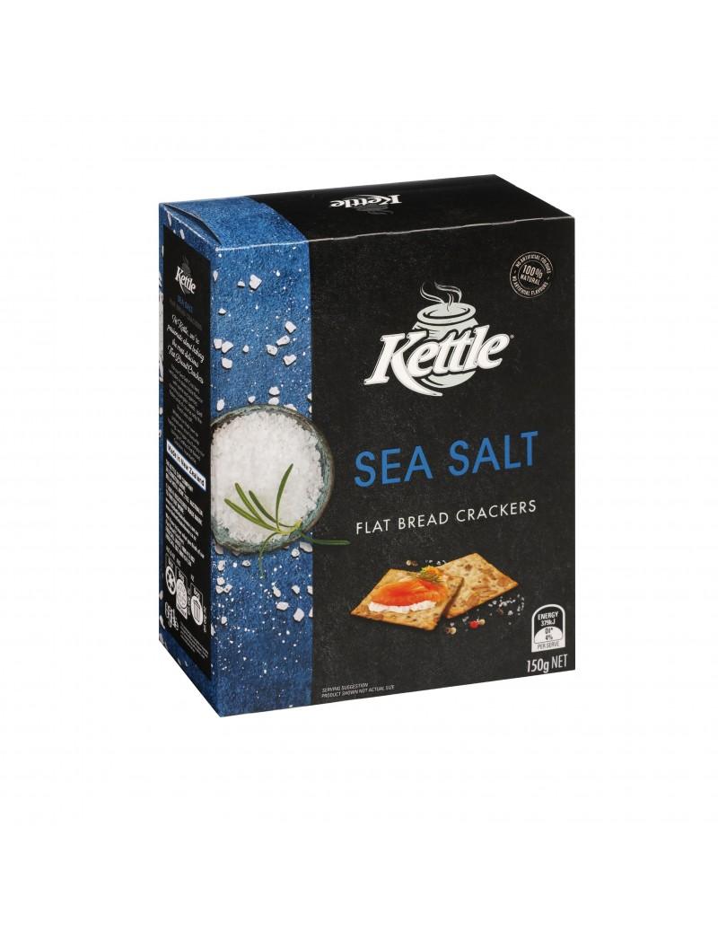 Crackers Kettle Brd Salt 150g