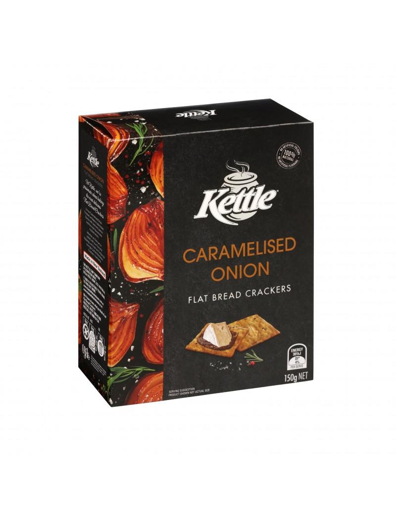 Crackers Kettle Brd Onion 150g
