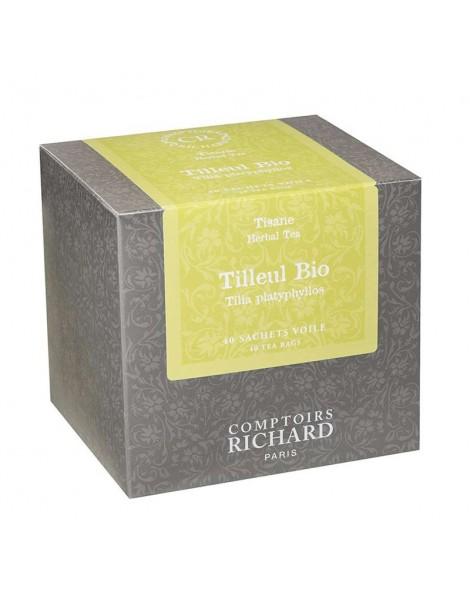 Tisane Tilleul bio boîte sachets voiles