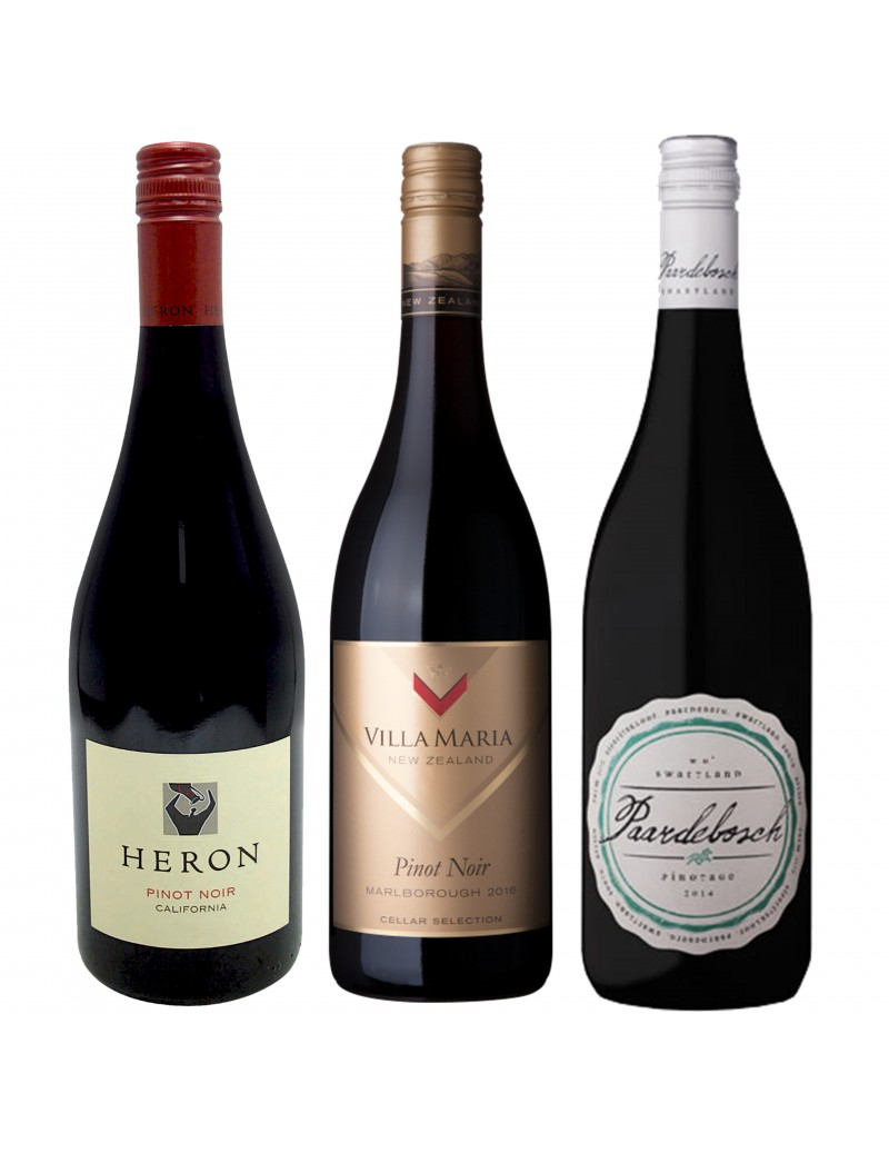 Pack Tour du Monde Pinot Noir