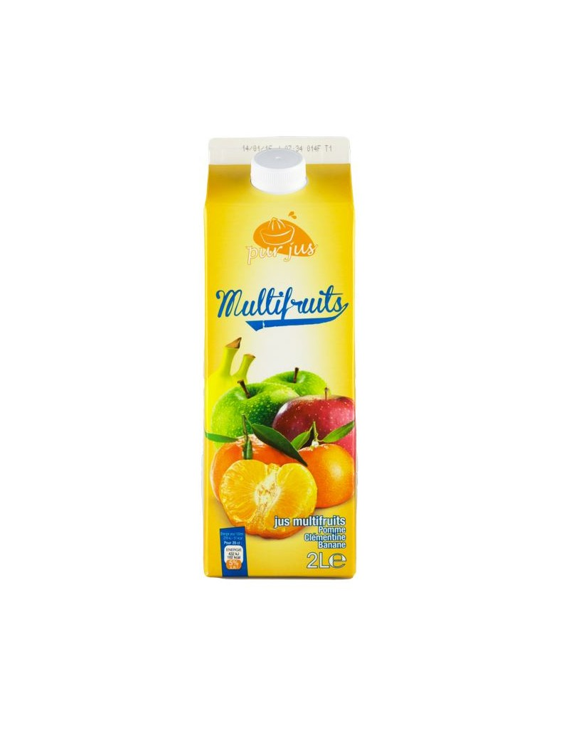 Pur Jus 100% Multifruits 2L