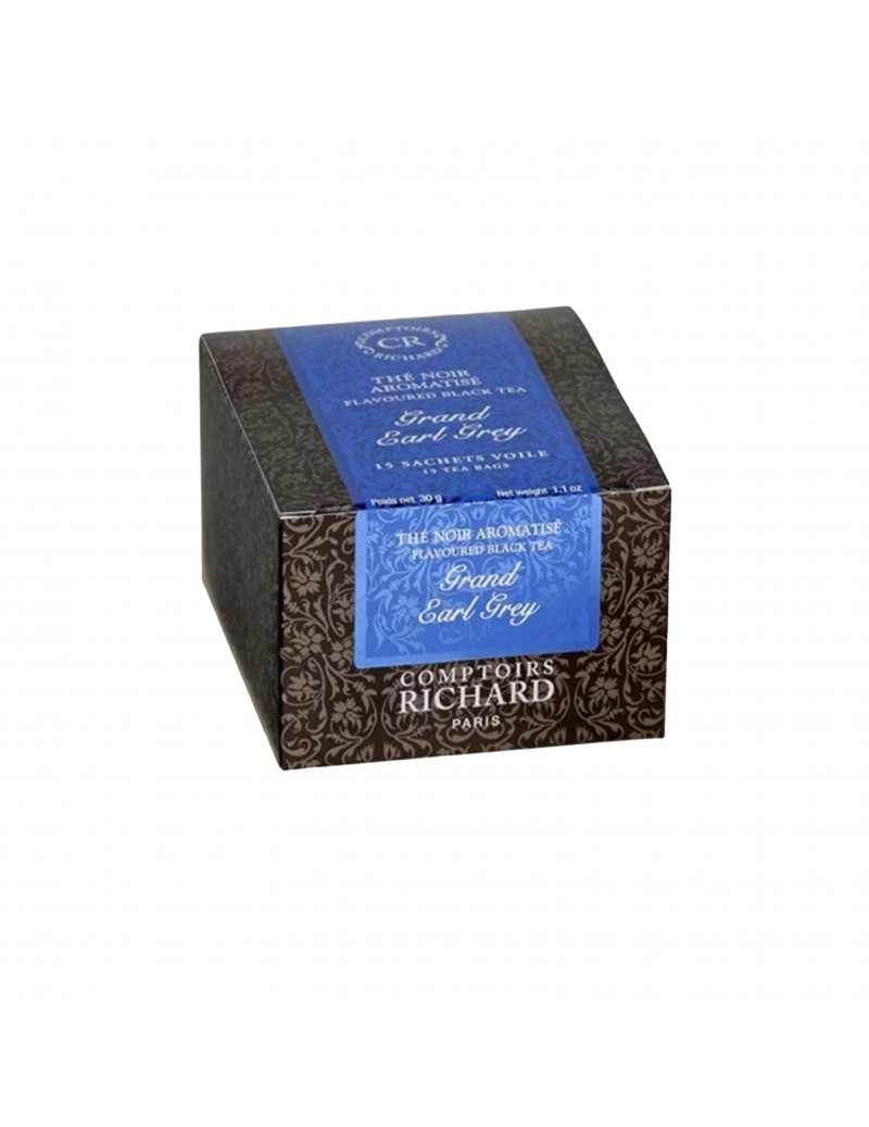 Thé Noir Grand Earl Grey Comptoirs Richard x 15