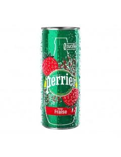 Perrier aromatisé fraise 30 x 25cl