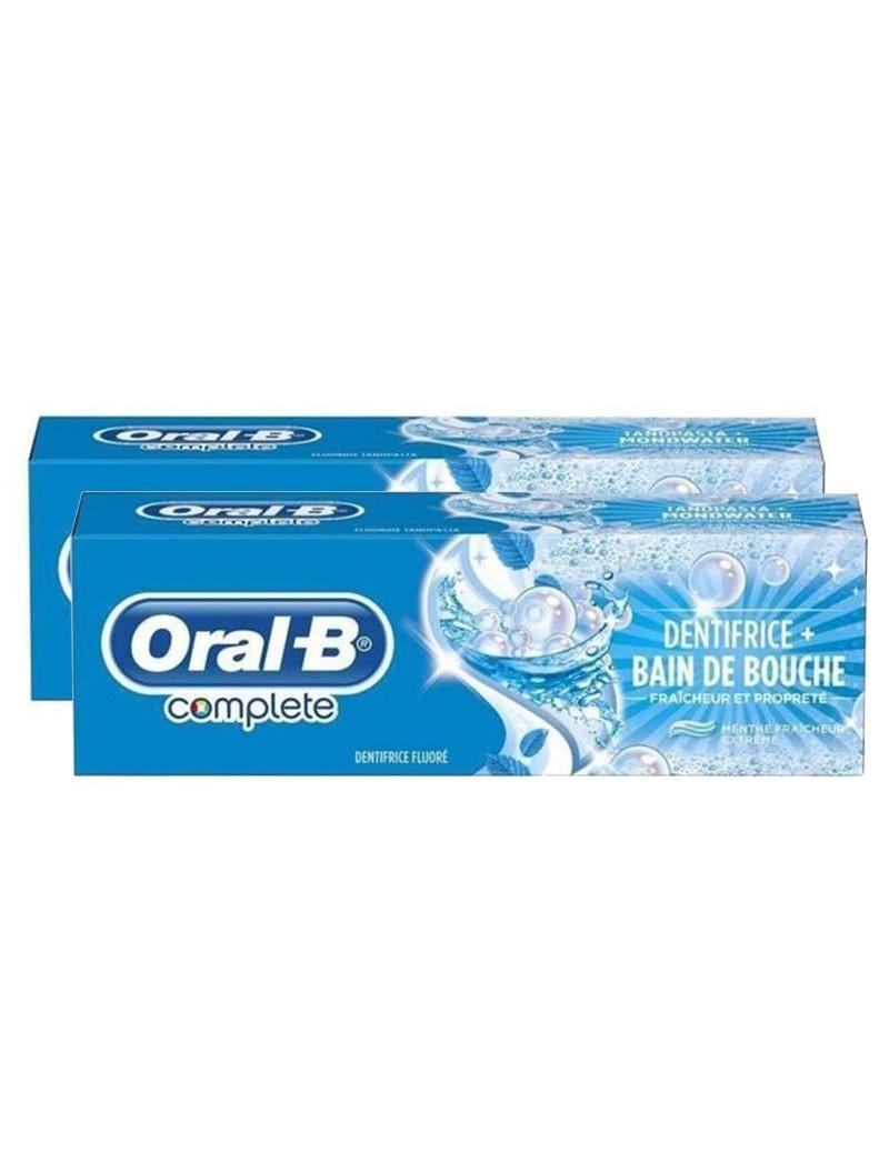 Dentifrice Oral B complete  2 x 75ML