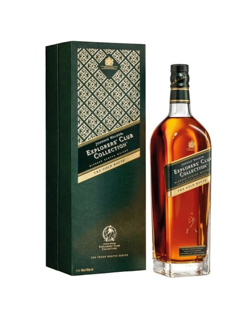 Johnnie Walker Explorer The Gold Route