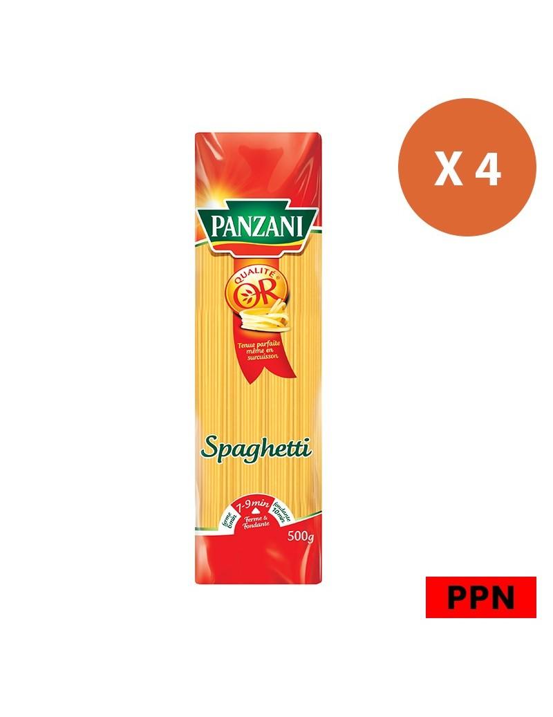 Pâtes Spaghetti Panzani 4 x 500G