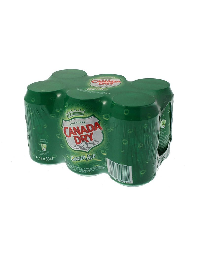 Canada Dry Ginger Ale 6x33CL