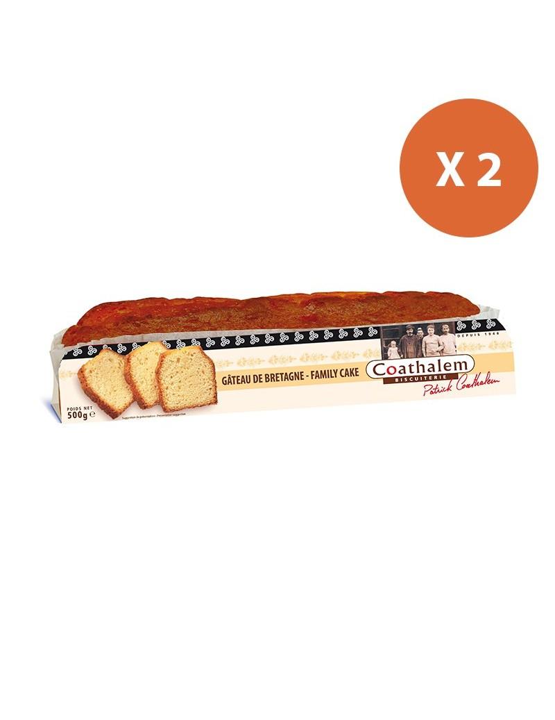 Barre gâteau nature 2 x 500G