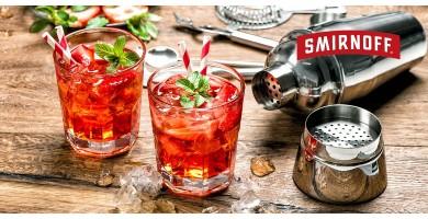 Idées cocktails vodka Smirnoff